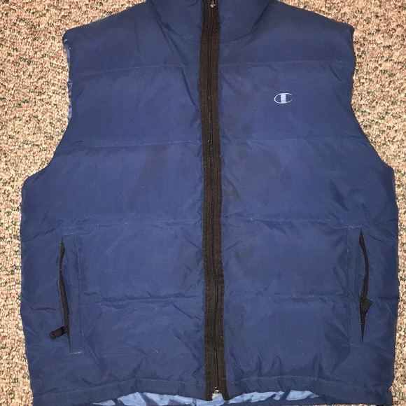 01558a2b8a5f Champion Other - Champion Navy Puffy Vest